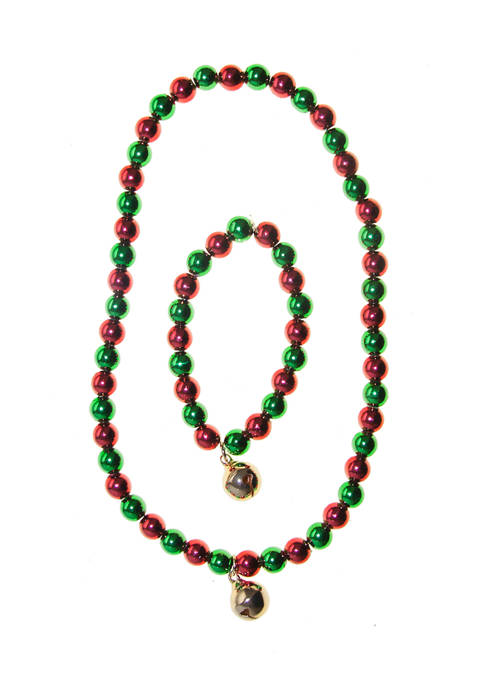 Riviera Girls Jingle Bell Necklace Set