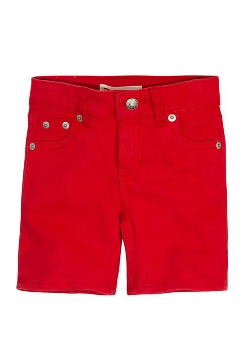 Levi's® Girls 4-6x Stretch Twill Midi Shorts