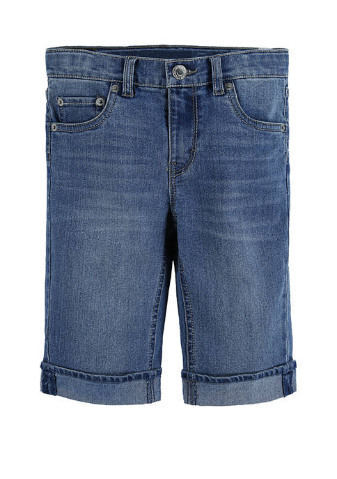 Levi's® Girls 4-6x Bermuda Shorts