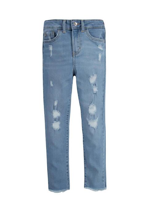 Levi's® Girls 4-6x Destructed Denim Jeans