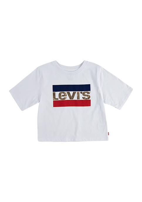 Girls 4-6x High Rise T-Shirt