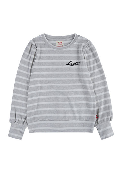 Girls 4-6x Pullover Graphic Sweater