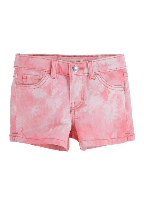 Levi's® Girls 4-6x Tie Dye Shorts