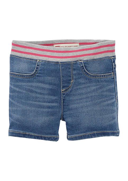Levi's® Girls 4-6x Pull On Denim Shorts