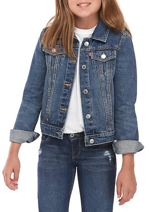 Levi's® Girls 7-16 Rigid Trucker Jacket