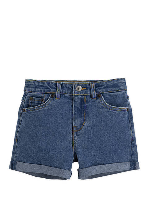 Levi's® Girls 7-16 High Rise A Line Shorty