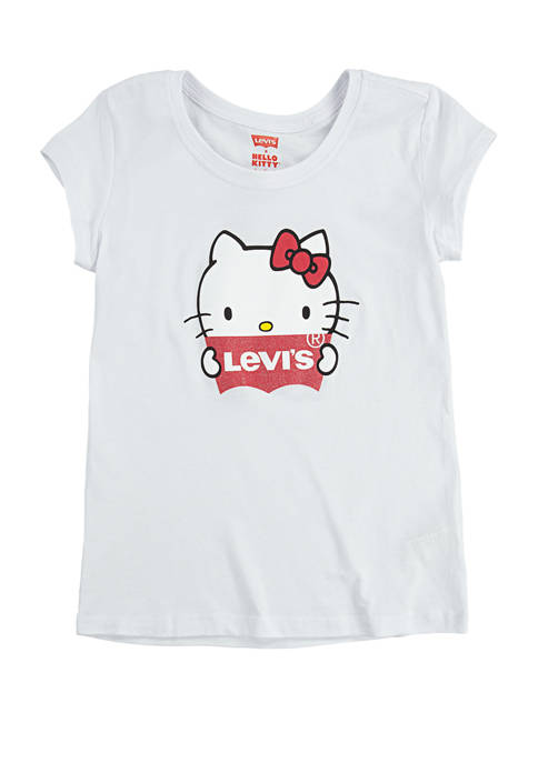 Levi's® Girls 7-16 Hello Kitty Graphic T-Shirt