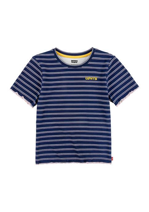 Girls 7-16 Rib Knit T-Shirt