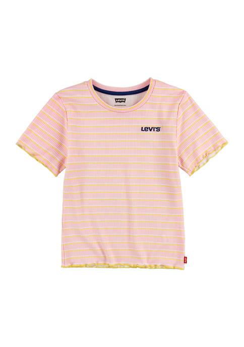 Levi's® Girls 7-16 Rib Knit T-Shirt