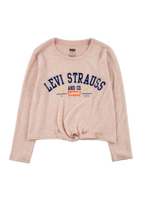 Levi's® Girls 7-16 Tie Front T-Shirt
