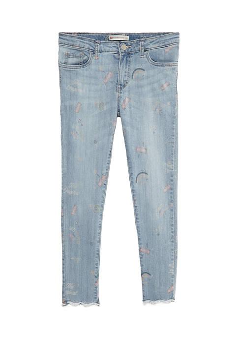 Girls 7-16 Super Skinny Ankle Jeans