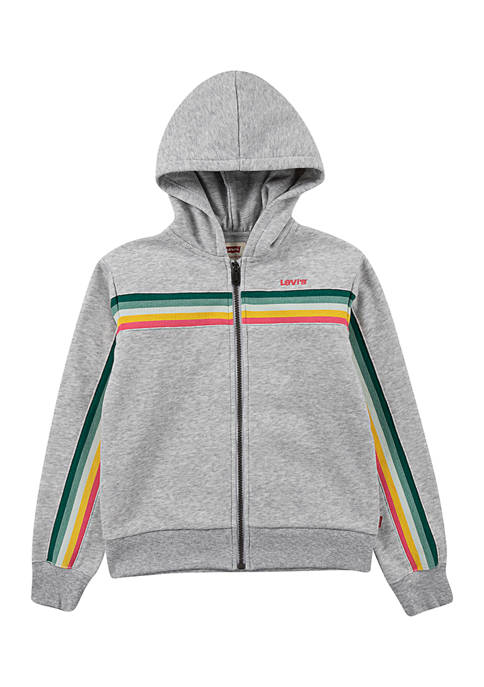 Levi's® Girls 7-16 Long Sleeve Full Zip Hoodie