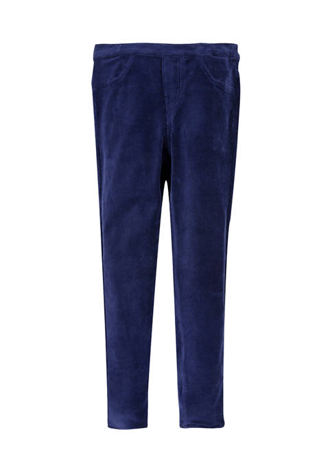 Girls 7-16 Corduroy Pull On Pants