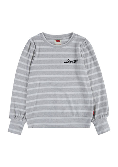 Levi's® Girls 7-16 Pullover Graphic Sweater