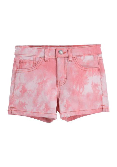 Levi's® Girls 7-16 Tie Dye Shorts