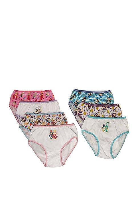Girls 4-8 Fingerlings Underwear Set