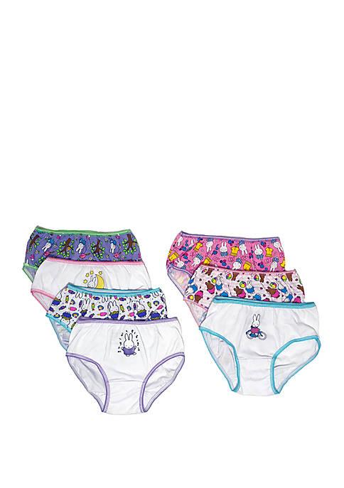 Girls 4-8 Miffy Underwear Set