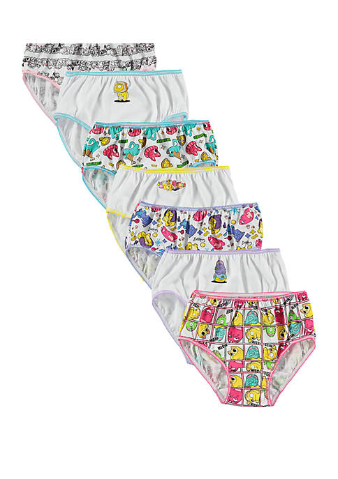 Girls 4-8 Lost Kitties Underwear Set