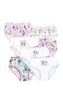 L.O.L. Surprise Girls 4-8 LOL Surprise Underwear Set