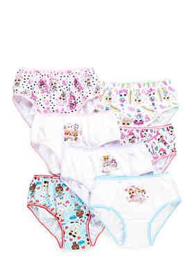Lol Surprise Doll Girls Childrens Three Pack Underwear Set