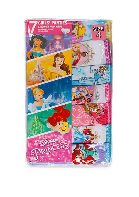 Girls 4-8 Princess Underwear Set