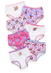 Toddler Girls Sophia the First Girls Panties Set