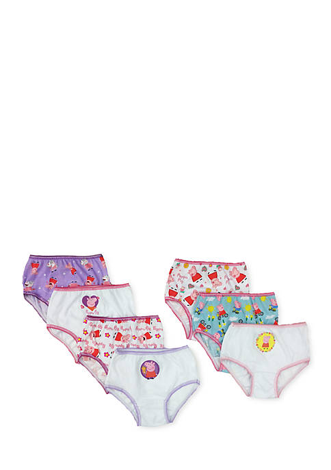 Handcraft 7-Pack Underwear Toddler Girls