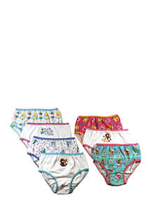 7-Pack Frozen Underwear Toddler Girls