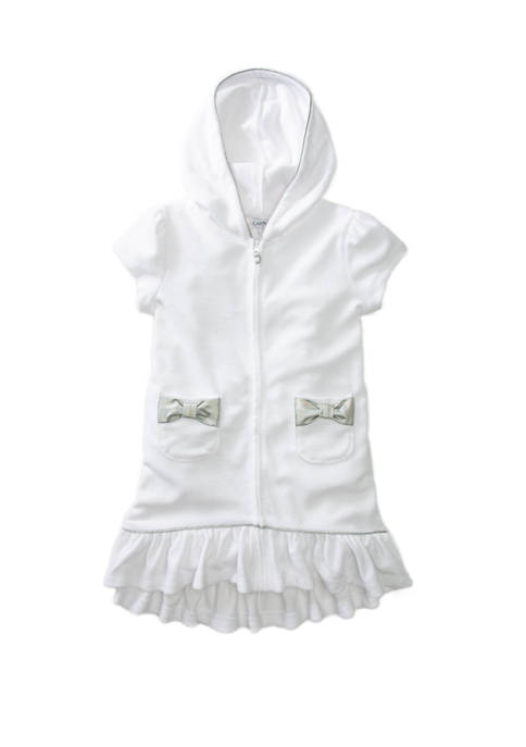 Flapdoodles Girls 4-6x Terry Cloth Swim Cover Up
