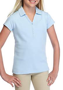 Uniform Y-Neck Polo Girls 7-16