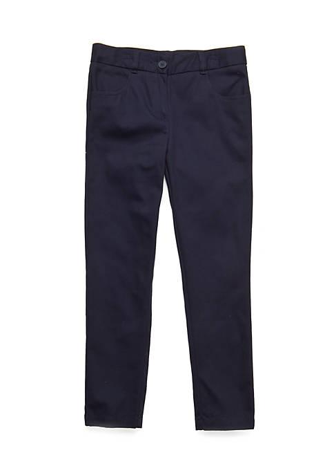 IZOD Uniform Ankle Pants Girls 7-16
