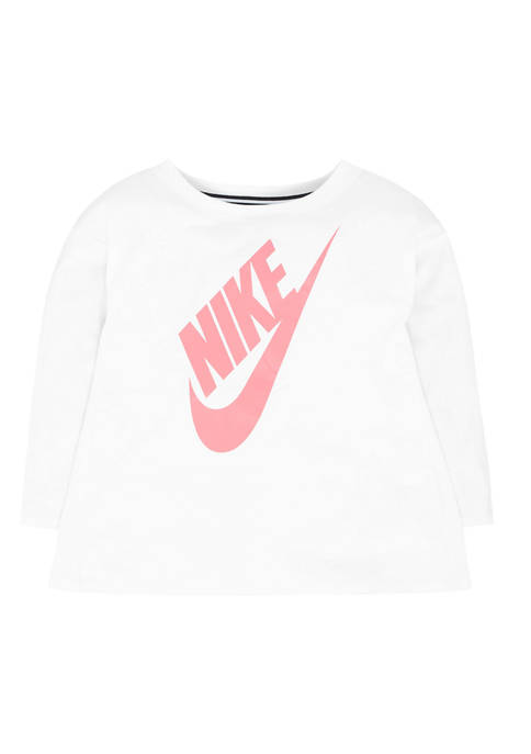 Girls 4-6x Long Sleeve Graphic Top