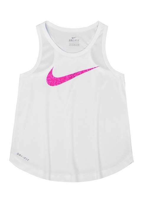 Nike® Gils 4-6x Gravel Swoosh Tank