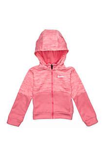 Nike® Girls 4-6x Therma Heather Hoodie