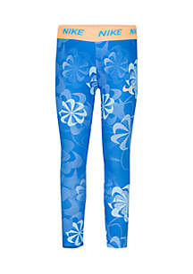 Girls 4-6x Dri-FIT Printed Leggings