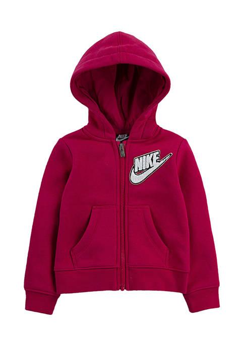 Nike® Girls 4-6x Full-Zip Hoodie