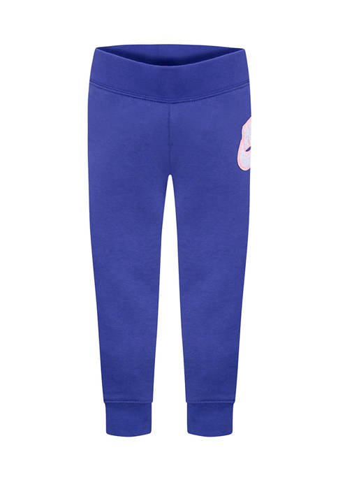 Nike® Girls 4-6x Sparkle Chenille Joggers