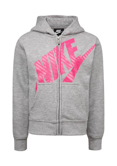 Nike® Girls 4-6x Futura French Terry Jacket