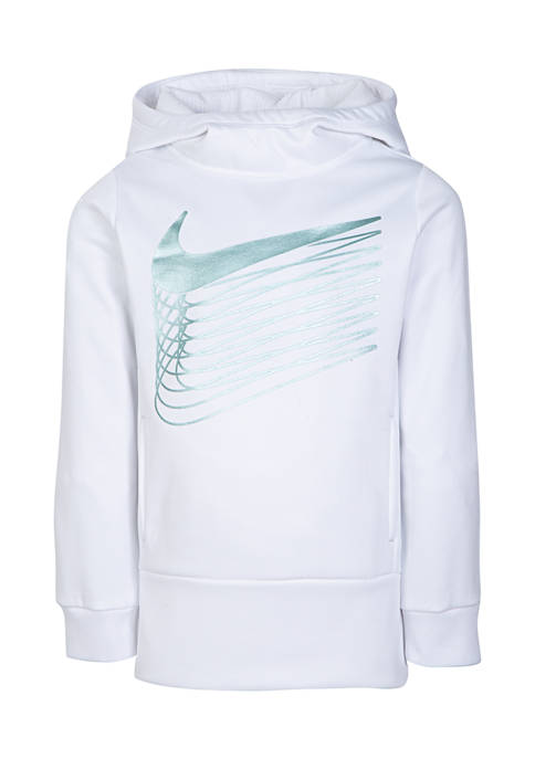 Girls 4-6x Swoosh Thermal Pullover