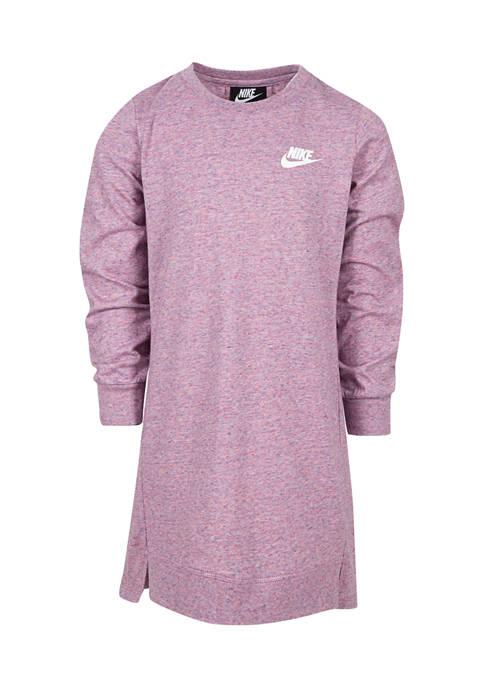 Nike® Girls 4-6x Jersey Long Sleeve Dress