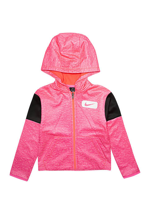 Nike® Girls 4-6x Therma Multi Elastic Full Zip