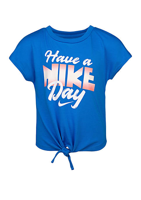 Nike® Girls 4-6x Have a Nike Day Knit