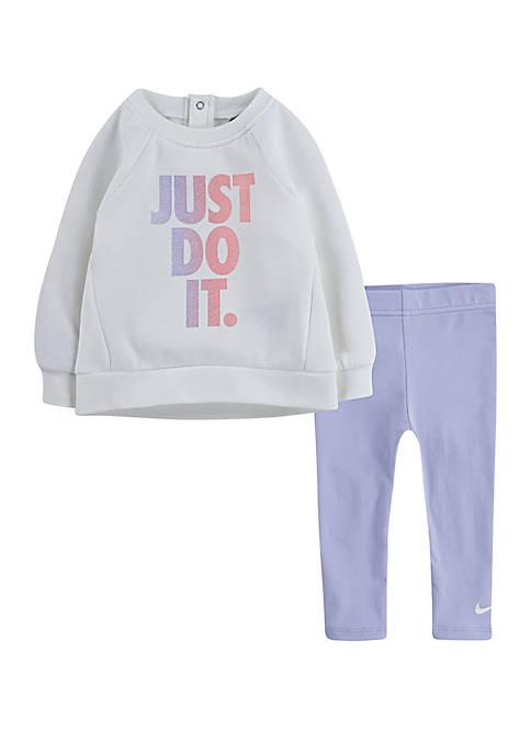 Nike® Toddler Girls Tunic and Pants Set