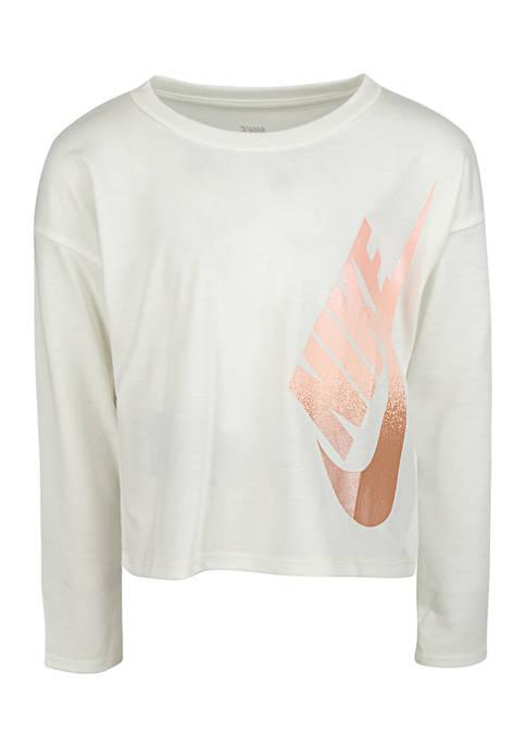 Nike® Girls 4-6x Future Femme Shine T-Shirt
