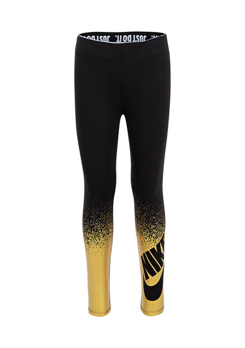 Nike® Girls 4-6x Shine Spray Leggings
