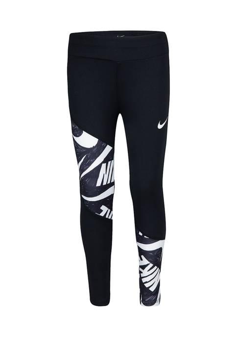 Nike® Girls 4-6x DriFIT Marker Mash Leggings