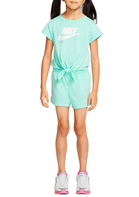 Nike® Girls 4-6x Futura Romper