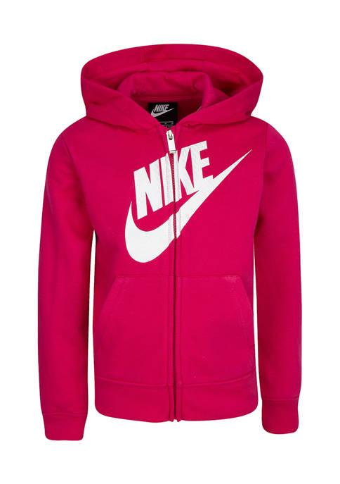 Nike® Girls 4-6x Futura Full Zip Hoodie