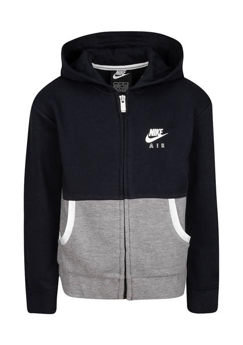 Nike® Girls 4-6X Full Zip Color Block Fleece