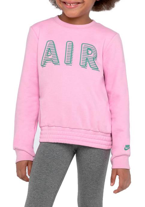 Girls 4-6x Long Sleeve Air Top